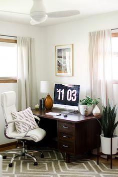 Carrie Waller Dream Green DIY Blogger Retro Virginia Home. Traditional Home  OfficesMinimalist Home DecorMinimalist ...