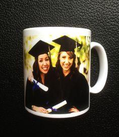 Graduation Celebration Mug with Personalised Photo  by Hx5Designs, £6.99