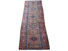 "1900's Antique Persian Sarab Handmade Runner Size 3'4"" X 11'3"" on Chairish.com"