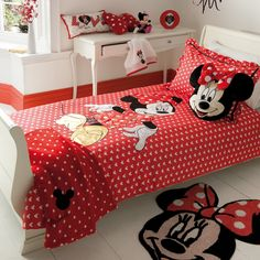 minnie mouse bedroom set - Welcome to be able to the web site. Within this time period, for anybody who is looking for minnie mouse bedroom set a person Minnie Mouse Room Decor, Minnie Mouse Bedding, Twin Bedroom Sets, Girls Bedroom, Mickey Mouse Bett, Disney Toddler Bed, Toddler Girl, Bedroom Themes, Bedroom Decor