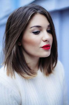 40 Short Ombre Hair Cuts for Women – Hottest Ombre Hair Colors – Beauty Hacks Long Bob Haircuts, Long Bob Hairstyles, Pixie Haircuts, Trendy Hairstyles, Brunette Hairstyles, Asymmetrical Hairstyles, Female Hairstyles, Layered Haircuts, Braided Hairstyles