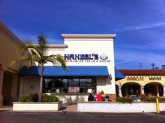 Handel's Homemade Ice Cream, on PCH, Redondo Beach, CA - worth a visit, my favorite is their S'Mores ice cream