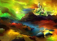 Experimental landscape, Alexander Lidström on ArtStation at https://www.artstation.com/artwork/experimental-landscape-f2f1596a-3a98-4495-a36d-e5434fe6e97a