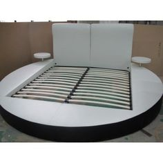 GBK017A Modern White Eastern King Bed