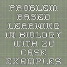 biology science Problem-based Learning in Biology with 20 Case Examples Biology Classroom, Biology Teacher, Ap Biology, Science Biology, Teaching Biology, Science Education, Life Science, Forensic Science, Weird Science