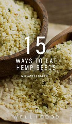 How to eat hemp seeds in 15 different ways Well+Good is part of Hemp seed recipes - Well+Good readers share their savvy tips and easy recipes Superfood Recipes, Raw Food Recipes, Healthy Recipes, Healthy Fats, Easy Recipes, Hemp Seed Recipes, Hemp Recipe, Hemp Hearts, Nutrition