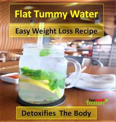 Flat Tummy Water Recipe: Detox Water For Weight Loss,  How To Lose Belly Fat, Detox Water, Lose Belly Fat, Belly Fat, Lose Belly Fat, How To Get Rid Of Belly Fat, How To Lose Belly Fat Fast, Flat Belly Diet, How To Reduce Belly Fat, How To Lose Stomach Fat