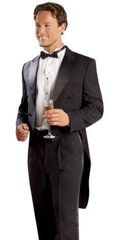 Black Mens Tuxedo Tailcoat Suit perfect for any Formal Occasion. EJ Samuel makes the one you're looking for. Men's Tuxedo Black Tailcoat Jacket Comfortable Style Tuxedos Modern Look. | eBay! parade holiday holidays holiday's