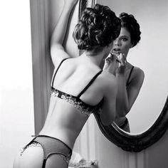 makeup and lingerie