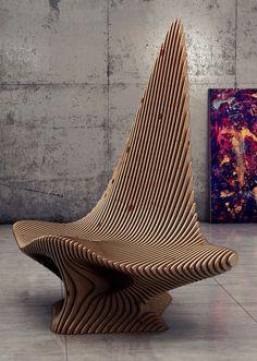 Concept of Scate Chair by Oleg Soroko