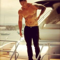 Tariq Sims Rugby League, Tattoos For Guys, Men Tattoos, Mma, Hot Guys, Sporty, Wrestling, Football, Athletes