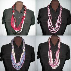 Free Crochet Pattern Chain Necklace by JessieAtHome