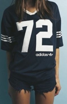 love these vintage adidas oversized tees