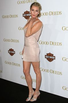 Scrumptious and Sexy Rebecca Romijn