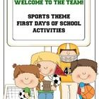 These activities are perfect for ANY classroom! It doesn't matter what your theme is because on those first days we are all trying to establish a c...