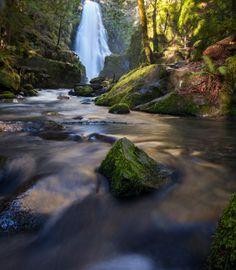 Susan Creek Falls, Douglas County near Roseburg Oregon