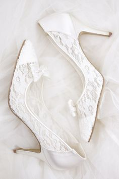 Lovely in lace with our #Promise heel