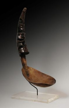 A Haida Horn Spoon, Canada / U.S.A.