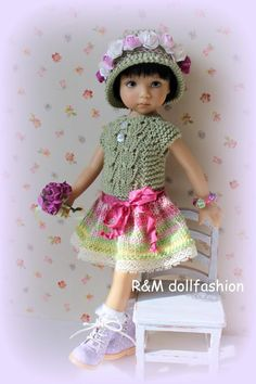 photo 0603-15_zpsr0mpnchg.jpg. From R&M Doll Fashion, Russia. Easter Line. SOLD for base bid of $82.99 on 3/9/15