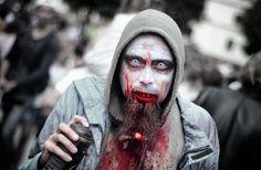 zombie beard makeup - Google Search