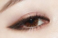 Korean Makeup Tips, Korean Makeup Look, Korean Makeup Tutorials, Asian Eye Makeup, Eye Makeup Art, Eye Makeup Tips, Smokey Eye Makeup, Cute Makeup, Makeup Eyeshadow