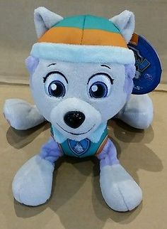 Paw Patrol Everest Plush Soft Toy - NEW Perfect birthday Gift by Nickelodeon