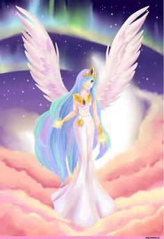 my little pony,Мой маленький пони,фэндомы,Princess Celestia,Принцесса Селестия,royal,mlp art,mlp хуманизация