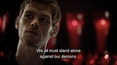Find images and videos about quotes, vampire and Vampire Diaries on We Heart It - the app to get lost in what you love. Tvd Quotes, Dark Quotes, Movie Quotes, Words Quotes, Life Quotes, Qoutes, Sayings, Klaus The Originals, Vampire Diaries The Originals