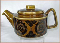 Scandinavian Midcentury Modern Teapot by Stavangerflint Norway Sera Pattern | eBay