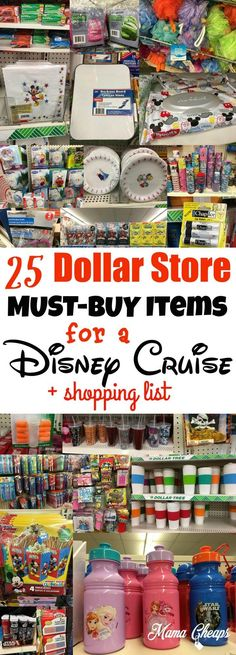 25 Dollar Store MUST-BUY Items for a Disney Cruise When one of your family's most favorite hobbies is to travel, and you find yourself packing… Packing For A Cruise, Cruise Tips, Cruise Travel, Cruise Vacation, Disney Vacations, Vacation Ideas, Vacation Pictures, Family Vacations, Family Trips