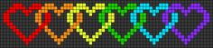 Alpha friendship bracelet pattern added by Sheva. Diy Friendship Bracelets Patterns, Loom Bracelet Patterns, Bead Loom Bracelets, Bead Loom Patterns, Beaded Flowers Patterns, Beading Patterns Free, Pixel Art, Cross Stitch Designs, Cross Stitch Patterns