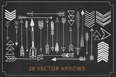 VECTOR+FILES+28+arrows+by+michLgstudios+on+Etsy,+$14.00