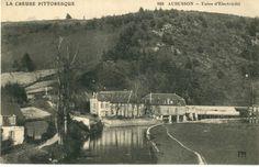 AUBUSSON, usine d'électricité - Bfm Limoges