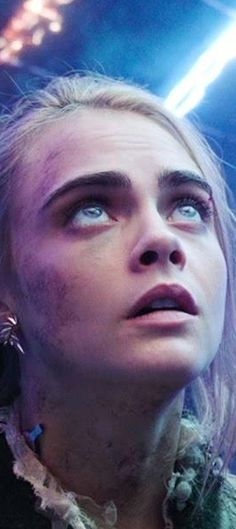 Valerian and the City of a Thousand Planets - Cara Delevingne as Laureline.