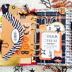 Christy Tomlinson (@theplannersociety) • Okay I just have to share this!! This is one of the class projects being made in the upcoming Creative Holiday workshop! @justagirl has gone all out for this one setting up her planner for this holiday.