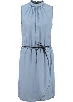 a184c4aeeb07 Garcia Denim Kjole D70282 Ladies Dress 185 light blue