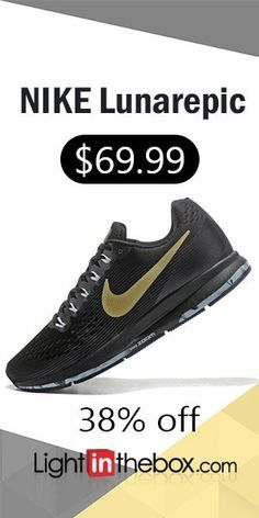 best authentic dd5f6 0286e   69.99  NIKE Lunarepic Mens and Women s Running Fitness casual Shoes
