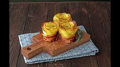 Bacon Wrapped Potato Roses