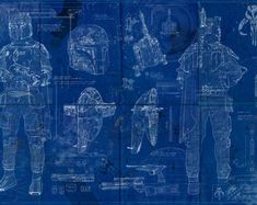 Boba Fett Star Wars Poster Blueprint = or * Star Wars Poster, Star Wars Art, Millennium Falcon Blueprint, Spaceship Craft, Mandalorian Armor, Star Wars Boba Fett, Star Wars Collection, Wonderwall, Doodle Art