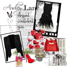 """Audrey Lane - day at the Races"" by ann-martin-1 on Polyvore"
