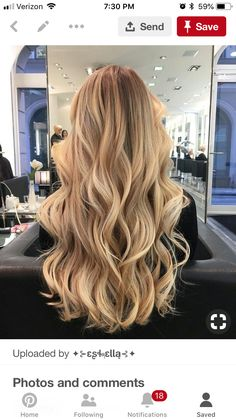 20 Cute and Easy Blonde Balayage Hairstyles – My hair and beauty Beige Blonde Hair Color, Blonde Hair Shades, Honey Blonde Hair, Blonde Hair Looks, Blonde Hair With Highlights, Blonde Balayage, Warm Blonde Hair, Honey Balayage, Brunette Color