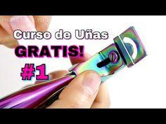 CLASE #1 Principiantes Uñas Acrílicas/Tip Natural - YouTube