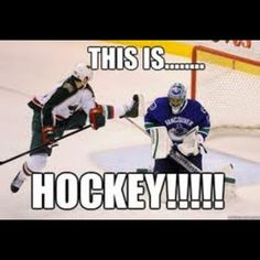 this is....HOCKEY