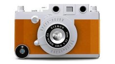A camera? An iPhone case? Yes and Yes. Cute and annoyingly non-purposeful. fourcornerstore.com