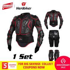 94a8bb89326 Barato HEROBIKER chaqueta de la motocicleta de hombres protección armadura  motocicleta Motocross ropa de armadura de