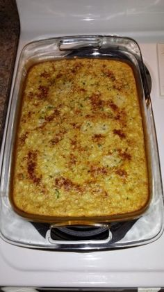 I've never had corn pudding before this, and I am sold. This is heavenly and simple to make. Recipe courtesy of Down Home Cooking. Corn Pudding Recipes, Corn Recipes, Side Dish Recipes, Vegetable Recipes, Casserole Recipes, Corn Casserole, Corn Dishes, Vegetable Dishes, Side Dishes