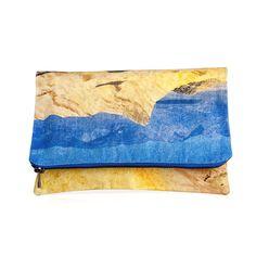 Fold Over Clutch Desert
