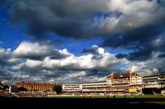 Dark skies hover above The Oval