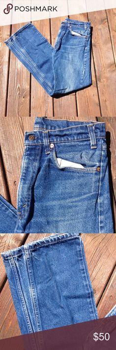 Vintage men's orange tab Levi's Jeans 32W x 34L Great condition! levis Jeans