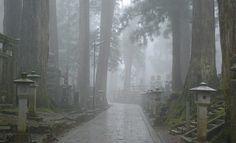 Mount Koya (Koyasan) is the center of Shingon Buddhism, outside Kyoto